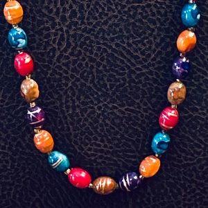 🌟HP🌟VTG 1970's Italian Glass Bead Necklace